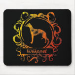 Classy Weathered Whippet Mousepad