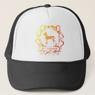 Classy Weathered Xoloitzcuintli Trucker Hat