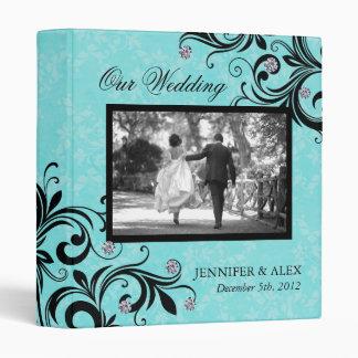Classy Wedding Album 3 Ring Binder