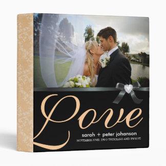 Classy  Wedding Photo Album 3 Ring Binder