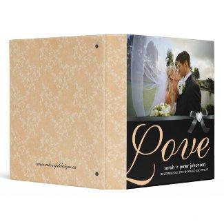Classy  Wedding Photo Album binder
