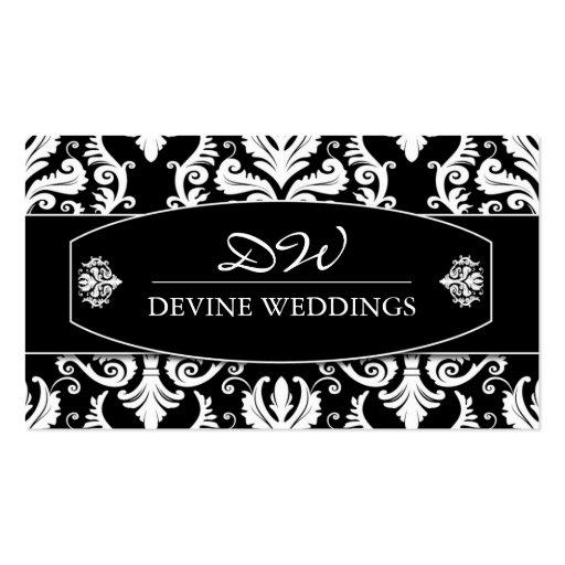 Classy  Wedding Planner Business Card