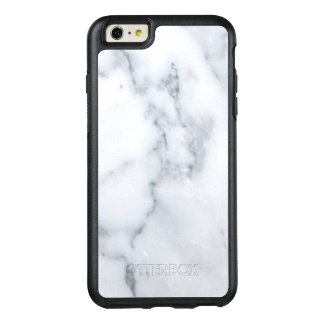 Classy White Marble Look OtterBox iPhone 6/6s Plus Case