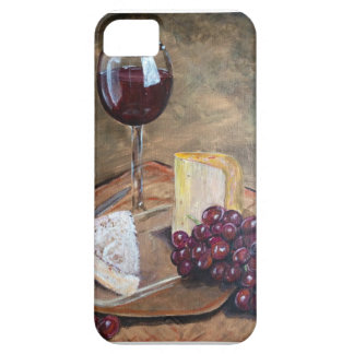 Classy Wine and Cheese Art iPhone SE/5/5s Case