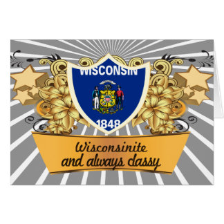 Classy Wisconsinite Card