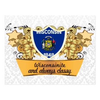 Classy Wisconsinite Postcard