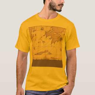 Classy World old map T-Shirt