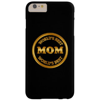 Classy World's Best Mom Smartphone Barely There iPhone 6 Plus Case