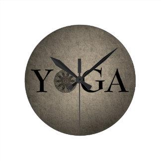 Classy YOGA Wall Clock