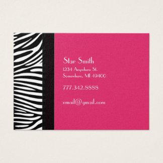 Classy Zebra Skin on Any Color Card