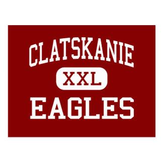 Clatskanie - Eagles - Middle - Clatskanie Oregon Postcard