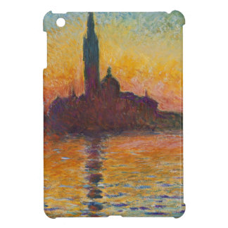 "Claud Monet, ""San Giorgio Maggiore by Twilight"" iPad Mini Cover"
