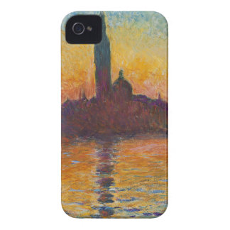 "Claud Monet, ""San Giorgio Maggiore by Twilight"" iPhone 4 Case"