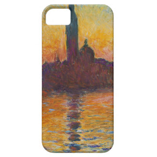 "Claud Monet, ""San Giorgio Maggiore by Twilight"" iPhone SE/5/5s Case"