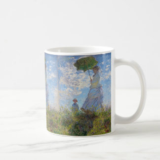 "Claud Monet, ""Woman with a Parasol"" Coffee Mug"