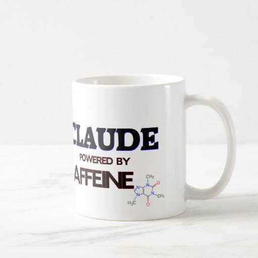 Claude accionó por el cafeína taza básica blanca