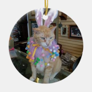 Claude Bunny Ceramic Ornament