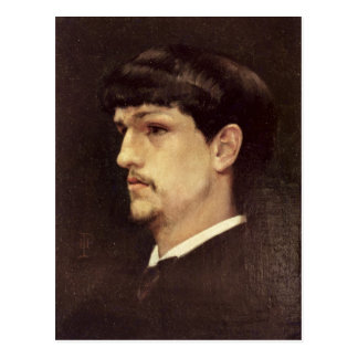 Claude Debussy  1886 Postcard
