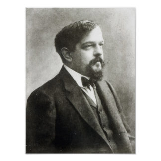Claude Debussy, c.1908 Póster