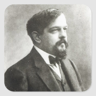 Claude Debussy, c.1908 Square Sticker