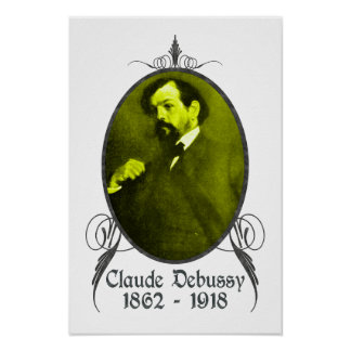 Claude Debussy Posters