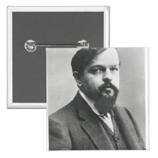 Claude Debussy Pin Cuadrado