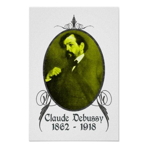 Claude Debussy Póster