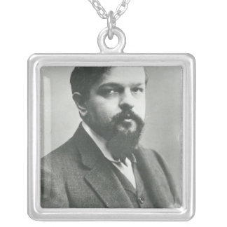 Claude Debussy Silver Plated Necklace