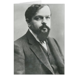 Claude Debussy Tarjeta De Felicitación