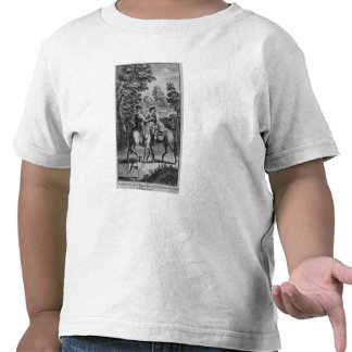 Claude Duval que roba al cordelero del escudero Camiseta