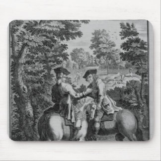 Claude Duval robbing Squire Roper Mouse Pad
