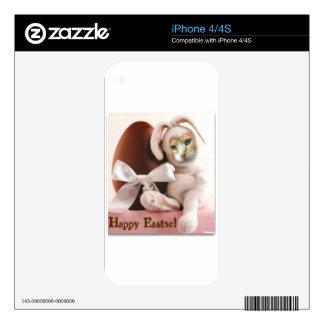 Claude Easter Bunny iPhone 4 Decals