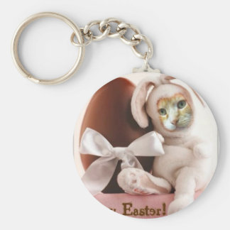 Claude Easter Bunny Keychain