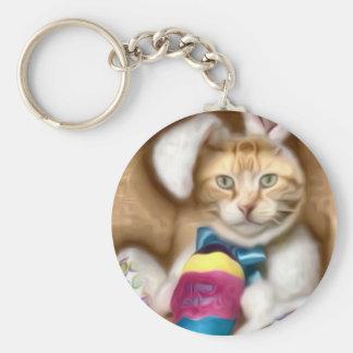 Claude Easter Bunny Keychain