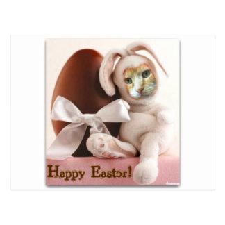 Claude Easter Bunny Postcard