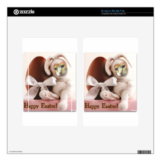 Claude Easter Bunny Skin For Kindle Fire