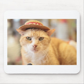 Claude en un gorra alfombrillas de raton