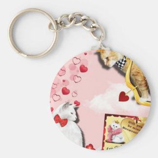 Claude Hearts and Arrows Keychain