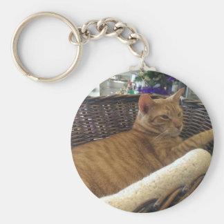 Claude is a Basket Case Keychain