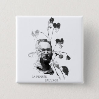Claude Levi-Strauss Pinback Button