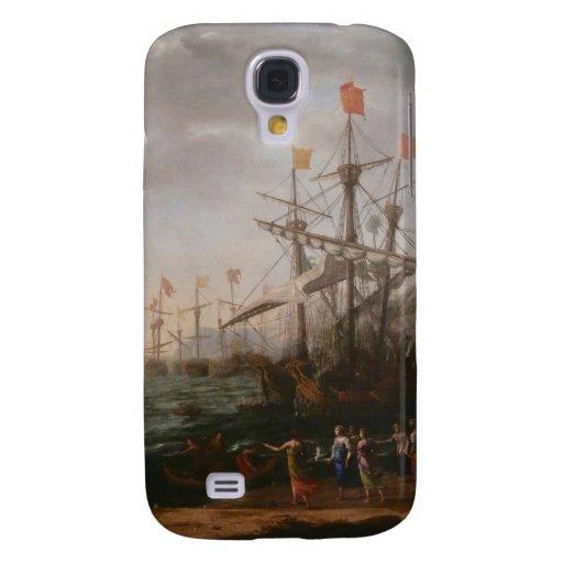 Claude Lorrain Artwork Galaxy S4 Covers