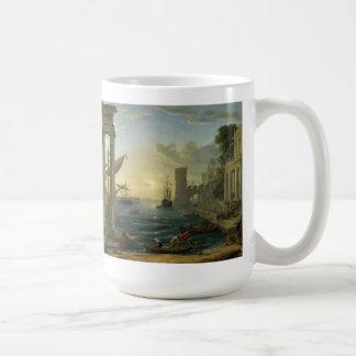 Claude Lorrain Artwork Classic White Coffee Mug
