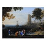Claude Lorrain Artwork Postcards