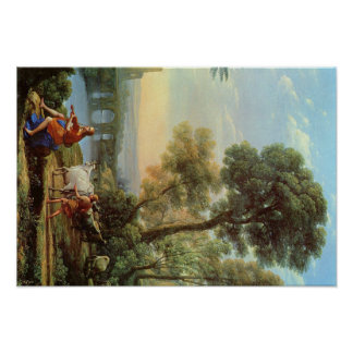 Claude Lorrain Artwork Poster