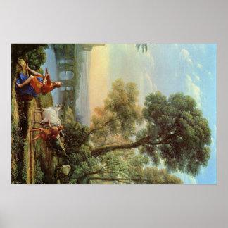 Claude Lorrain Artwork Poster