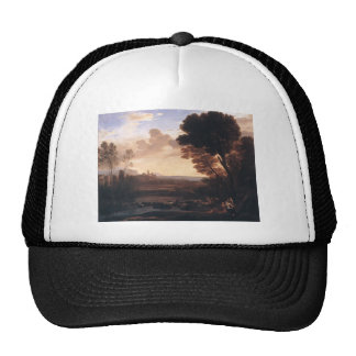 Claude Lorrain- Landscape with Paris and Oenone Trucker Hat