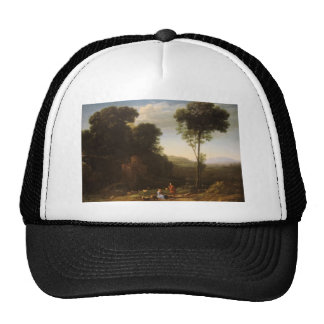 Claude Lorrain- Pastoral Landscape with a Mill Trucker Hat