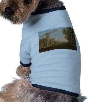 Claude Lorrain - ruinas del foro romano Camisas De Mascota
