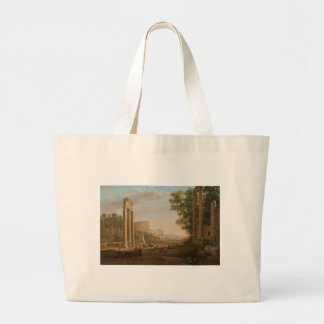 Claude Lorrain - Ruins of the Roman forum Bag