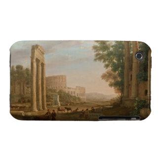 Claude Lorrain - Ruins of the Roman forum iPhone 3 Covers